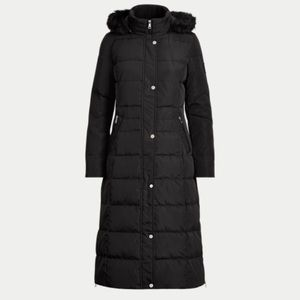 Ralph Lauren Quilted Hooded Dawn Coat
